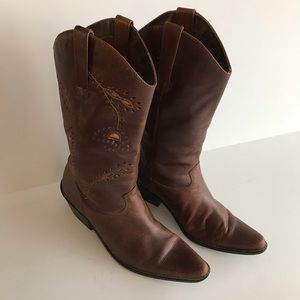 Matisse Chocolate Brown Cowgirl Boots